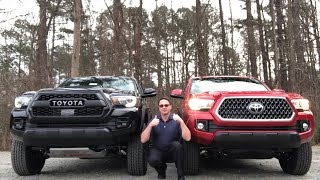 Truck Battle - 2019 Tacoma TRD PRO vs TRD Off-Road: You Decide the Winner!