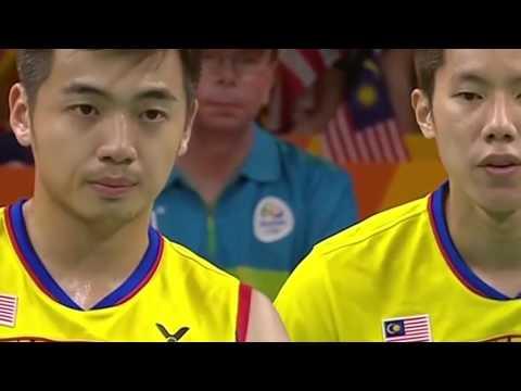 Fu Haifeng / Zhang Nan Vs Tan Wee Kiong / Tan Wee Kiong Olympic Gold Medal Match 2016
