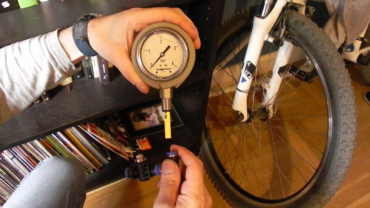 Manometro presion neumaticos casero youtube for Manometro para medir presion de agua