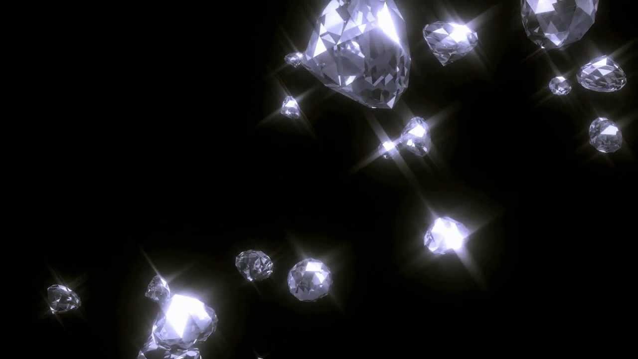 Free Snow Falling Wallpaper Falling Diamonds Blender Animation Hd 720p Youtube