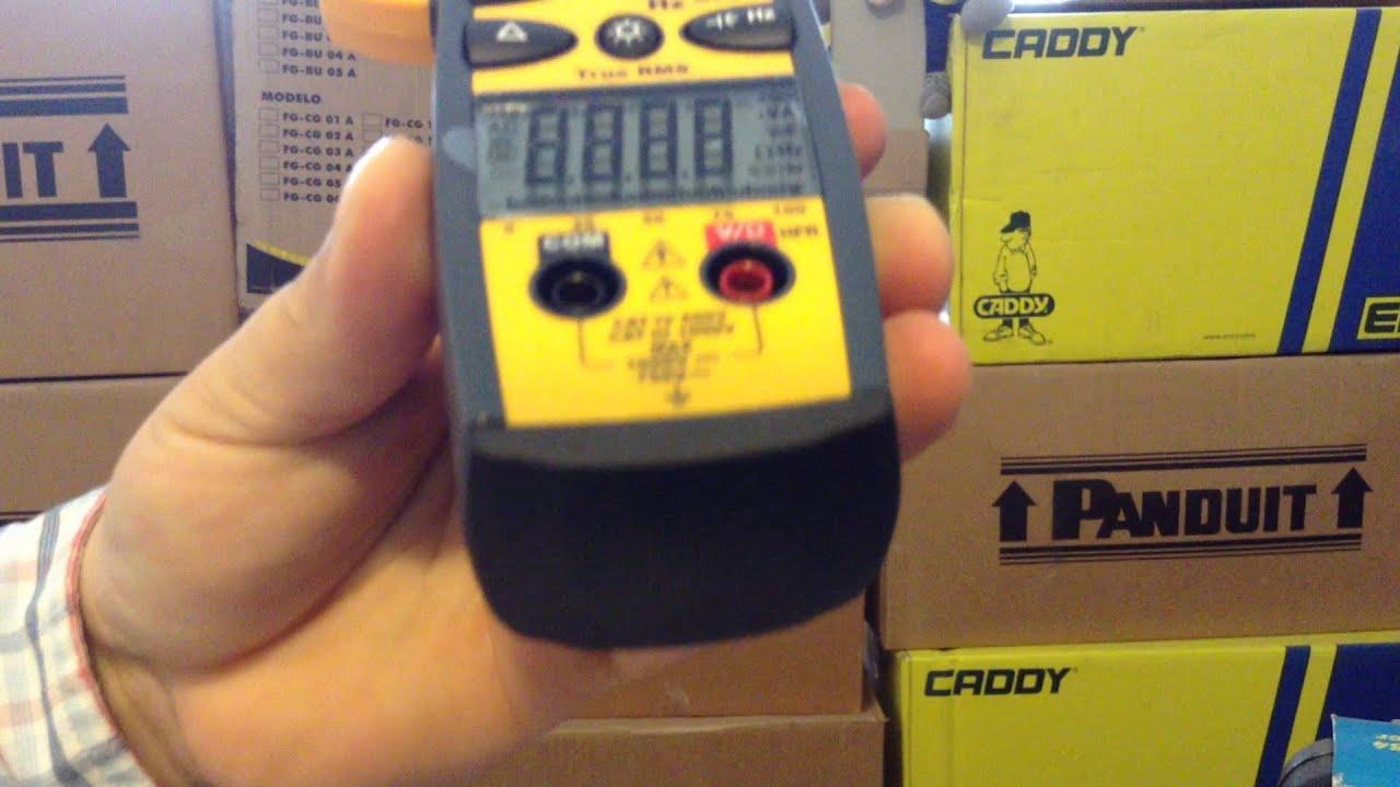 Amperimetro De Gancho 61 763 Ideal Industries 600 Amp Clamp Meter Meters Scanners Circuit Breaker Finders Sperry Finder
