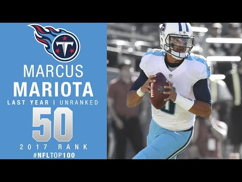 #50: Marcus Mariota (QB, Titans) | Top 100 Players of 2017 | NFL