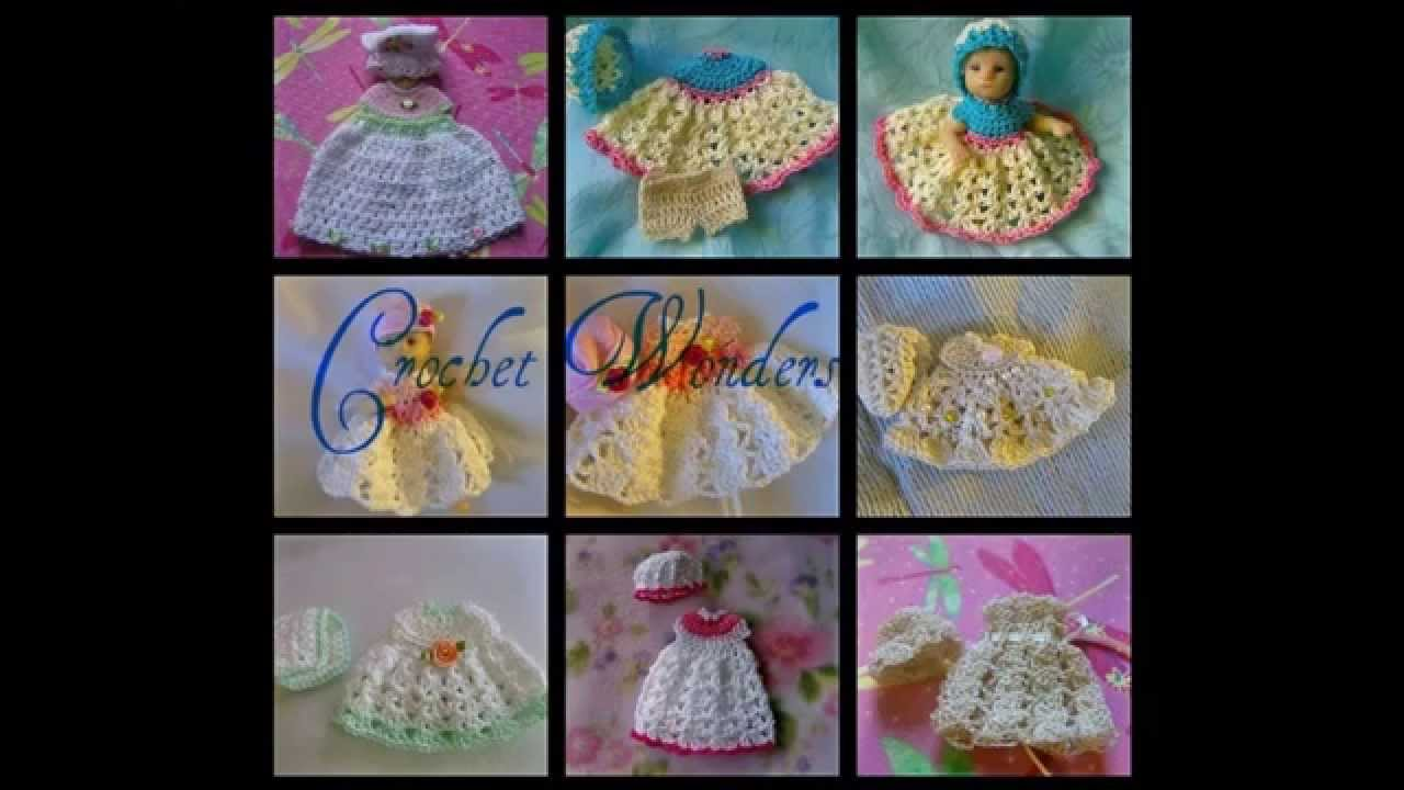 Thread Crochet Doll Clothes Youtube