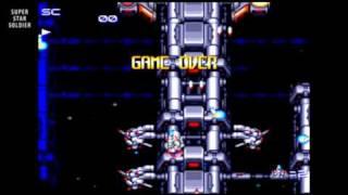 Super Star Soldier / auto demo / TurboGrafx-16 1991