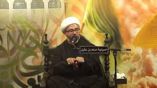 الشيخ مصطفى الموسى - الصلاة على النبي وآله مع الجماعة