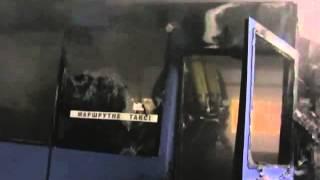 Пожар в Микроавтобусе в Чернигове. Магнолия-ТВ.(Оставайтесь в курсе последних новостей! Подписывайтесь на официальный канал