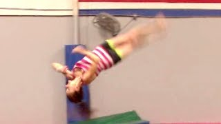 How To Do A Rudi (Front 1 1/2 Twist) From A Jump With Coach Meggin!