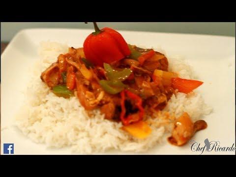 Old School Mackerel And Rice Jamaica Way | Recipes By Chef Ricardo