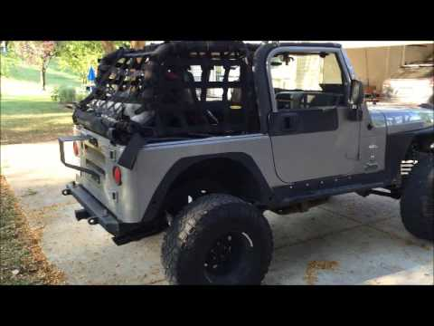 Jeep Wrangler Paint >> Projects On 2001 Jeep Wrangler Tj Bedliner Paint Job Youtube