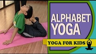 Yoga for kids: Alphabet Yoga D V M & YOGA (English)
