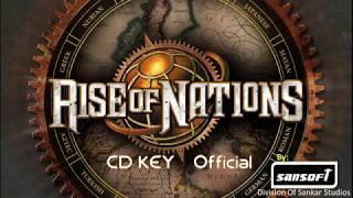 Rise OF Nations - CD KEY - SanSoftTech Official