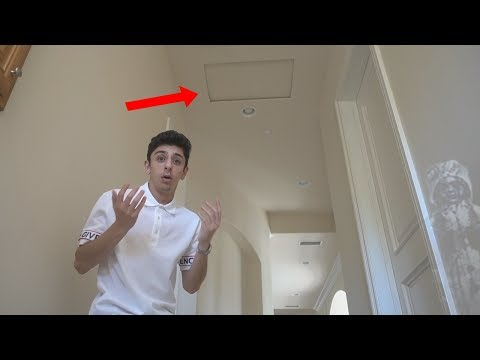 SCARY VOICE COMING FROM THE ATTIC.. (wtf) | FaZe Rug