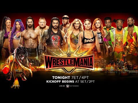 WWE WrestleMania 35 Live Chat And Countdown