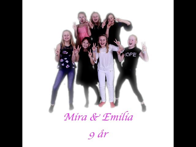 Mira & Emilias kalas på Audiospot studio