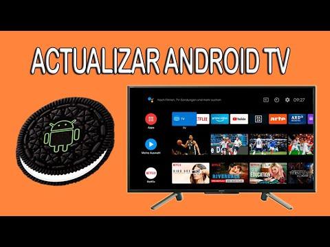 Actualizar Android TV de Smart TV Sony manualmente