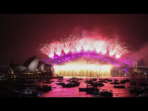 Australian Capital Cities Welcome The New Year With Memorable Fireworks Display
