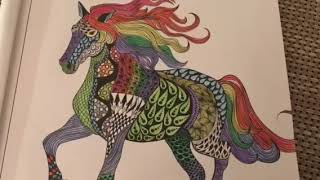 Horse Coloring | Creative Art Animals🐯