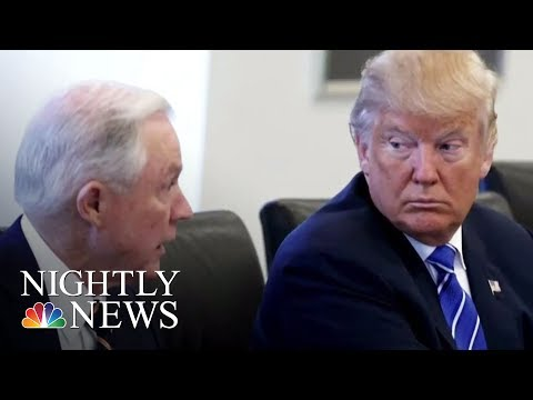Pres. Donald Trump: AG Sessions Should Never Have Recused Himself | NBC Nightly News