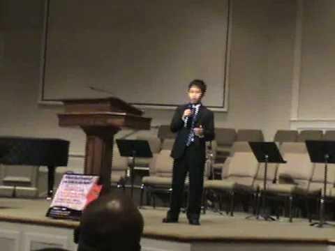 NAACP Public Speaking Contest - Khang Tuong Nguyen