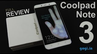 Coolpad Note 3 Plus Review Videos