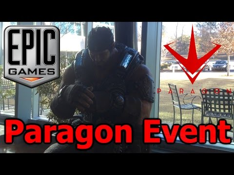 Vlog - My Trip to Epic Games HQ for the Paragon Community Event (Epic Games HQ Studio Tour)