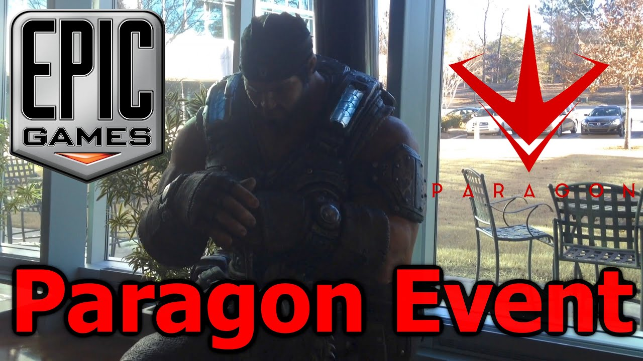 Vlog - My Trip to Epic Games HQ for the Paragon Community ...