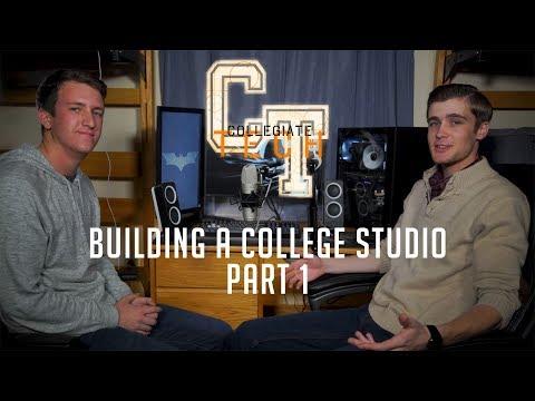 BUILDING A COLLEGE STUDIO | Studio Vlog, Part 1