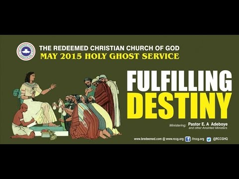 MAY 2015 HOLY GHOST SERVICE