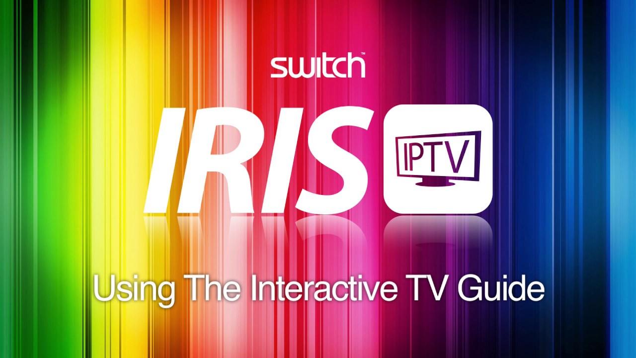 Iris IPTV - Using The Interactive TV Guide