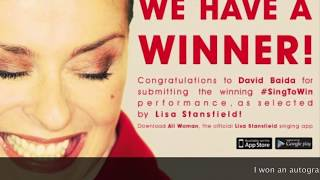 Young Mullets Run Free - Lisa Stansfield Picks David Baida as Winner of Singing Competition