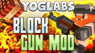 Minecraft Mods - Block Gun Mod - YogLabs