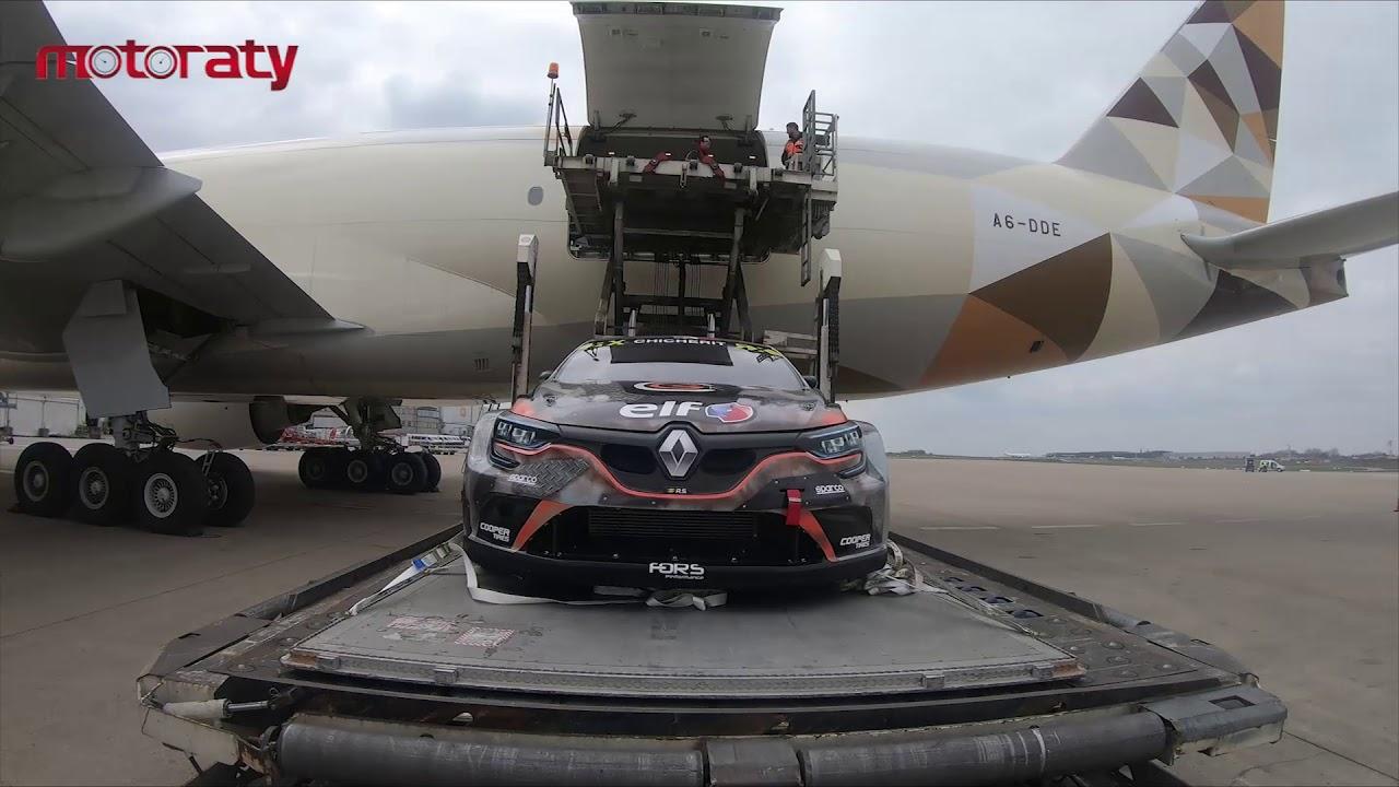 WATCH WRX cars take a plane to Abu Dhabi! - شاهد سيارات سباق الرالي في أبوظبي يحلقن مع طيران الإتحاد