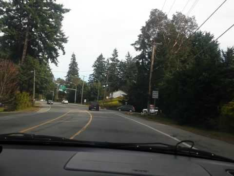 Victoria to Sooke Vancouver Island BC