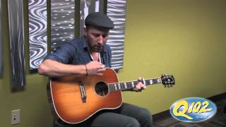 Mat Kearney - Learning to Love Again (Acoustic) - Live at Q102