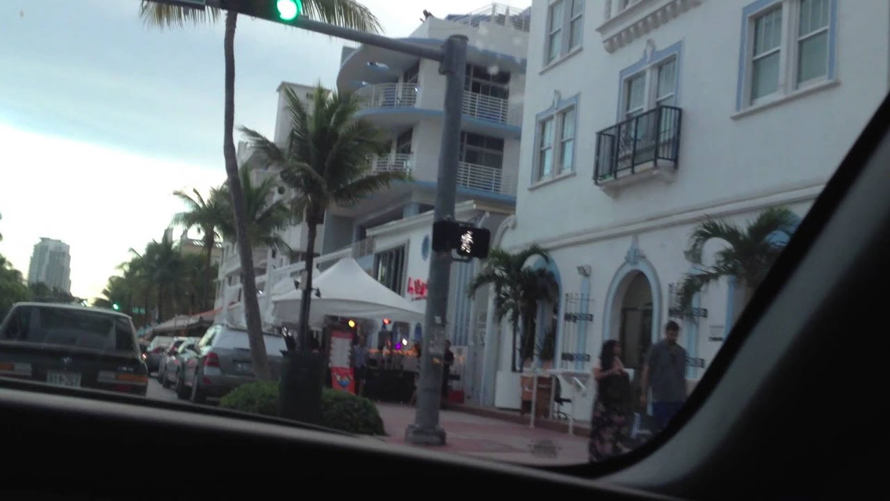 728 Ocean Drive Miami Scarface Scene Miami Beach Youtube