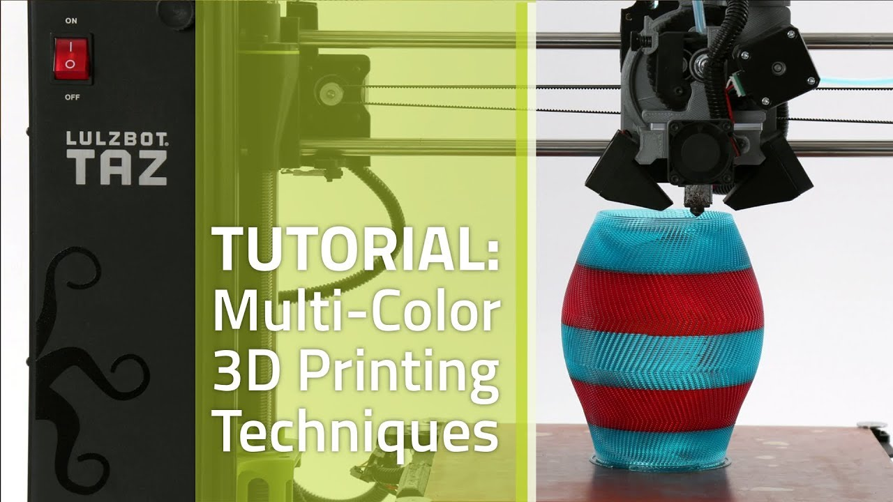 a546ae71d8b Tutorial — Multi-Color 3D Printing Techniques - YouTube