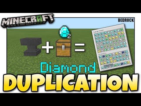 Minecraft Bedrock💎 DUPLICATION GLITCH 💎💎EASY💎💎 Tutorial 💎 PS4 , MCPE , Xbox , Windows & Switch