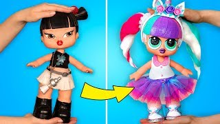 How to Make A GIANT LOL Surprise Unicorn Doll