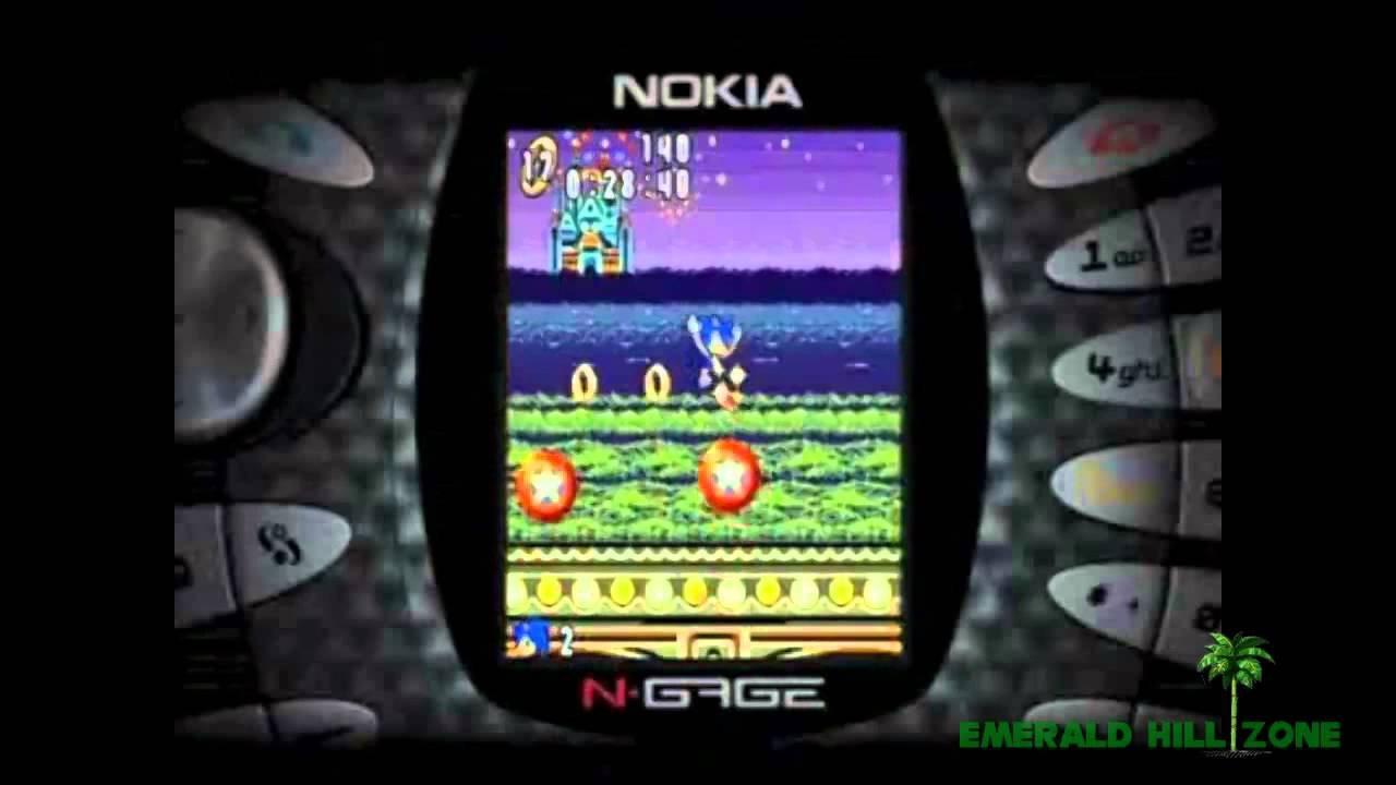 Mobile game commercial - Sonic N Nokia N Gage Retro Video Game Commercial Ad