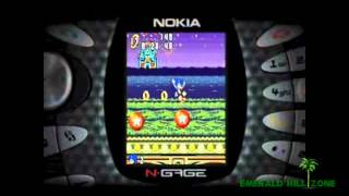 Sonic N (Nokia N Gage) - Retro Video Game Commercial / Ad