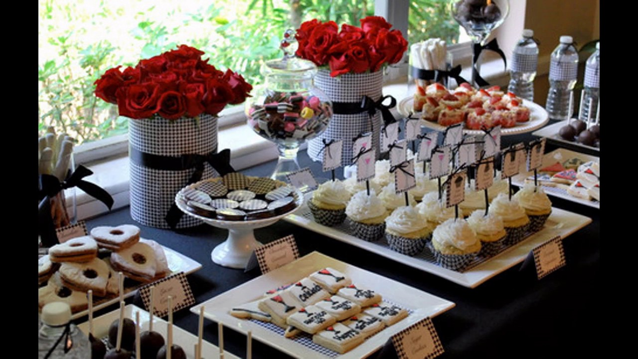 Download Red black white party decorating ideas