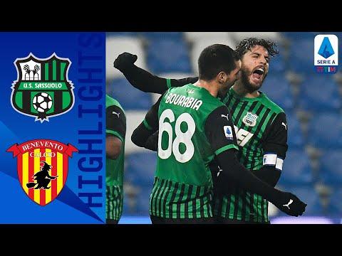 Sassuolo 1-0 Benevento | Decide un gol di Berardi | Serie A TIM