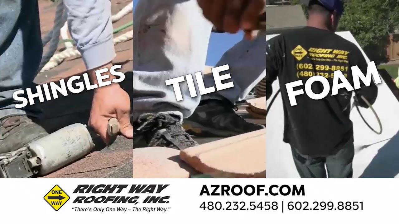 Free Roof Inspection Near Me   Mesa, AZ