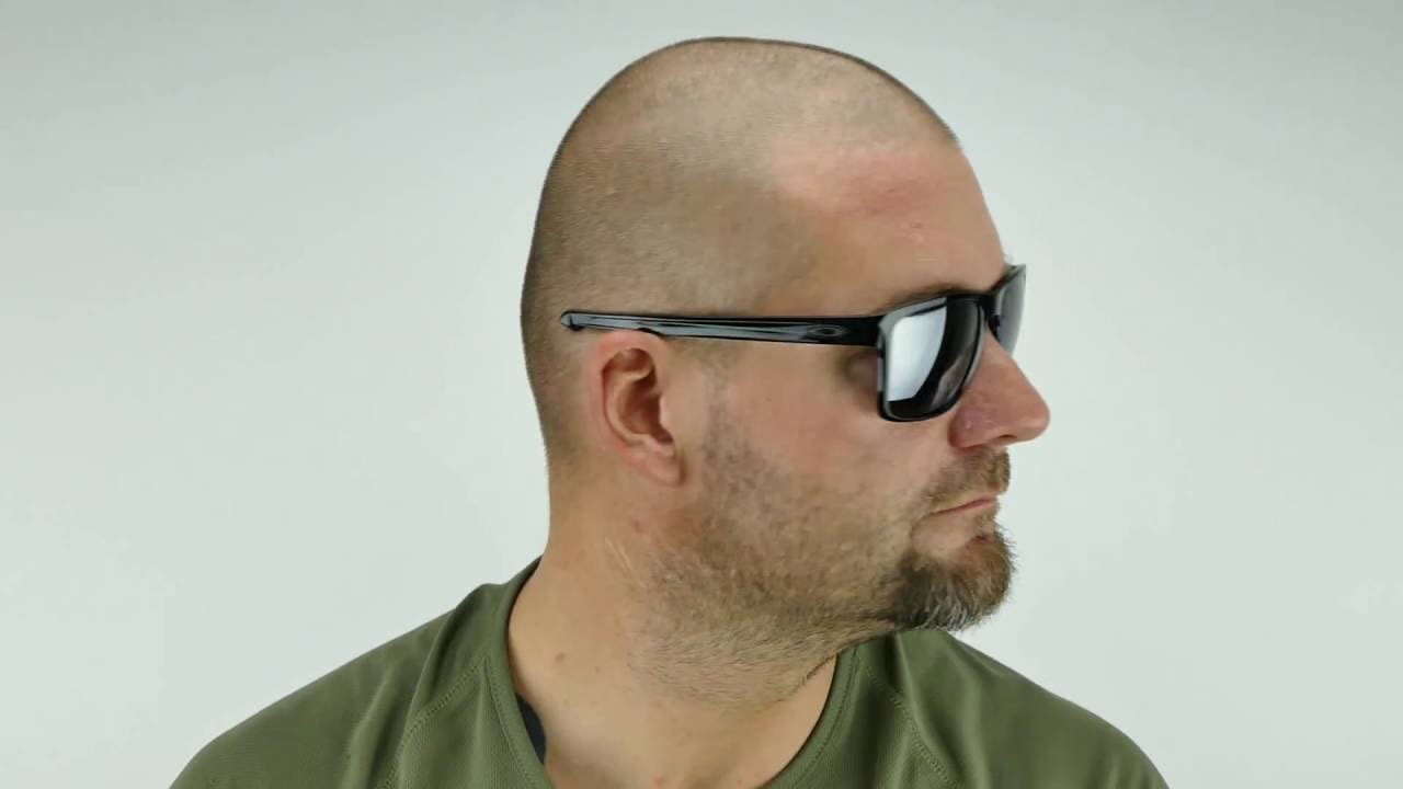 87ea223cd25a8 OAKLEY Sliver XL Polished Black Black Iridium - OO9341-05 - YouTube