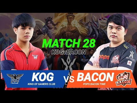 🇹🇭 ROV Pro League : KING OF GAMERS CLUB 🆚 POPS BACON TIME : Week 4 Day 3