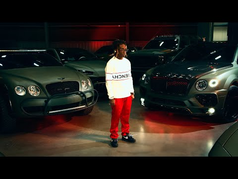 Lil Uzi Vert's $2,000,000 Car Collection
