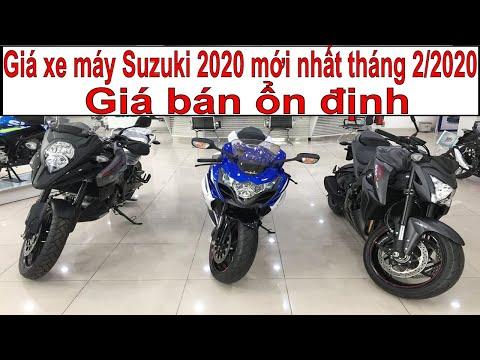 Tin Nhanh 24/7 - Giá Xe Máy Suzuki 2020 Tháng 2/2020, ổn định, Cao Nhất Tới Hơn 419 Triệu đồng.