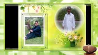 adhi adhi raati achna by shahzad ahmed azad kashmir burjun