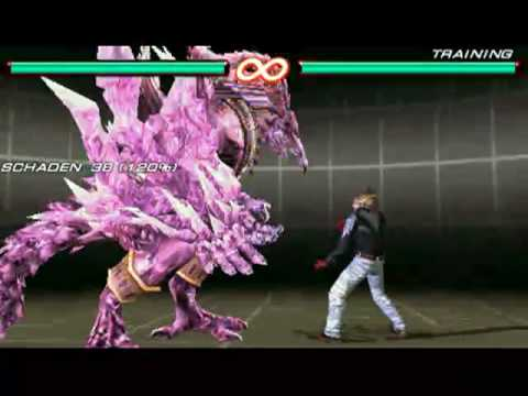 Tekken 6 Psp Play As Azazel Youtube