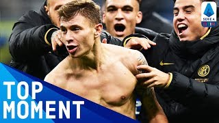 Barella Stunner Wins it for Inter! | Inter 2-1 Hellas Verona | Top Moment | Serie A